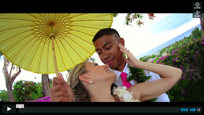 Hermida Wedding Highlights in Maui, HI | 2013 | Cinematographer | Director | Editor